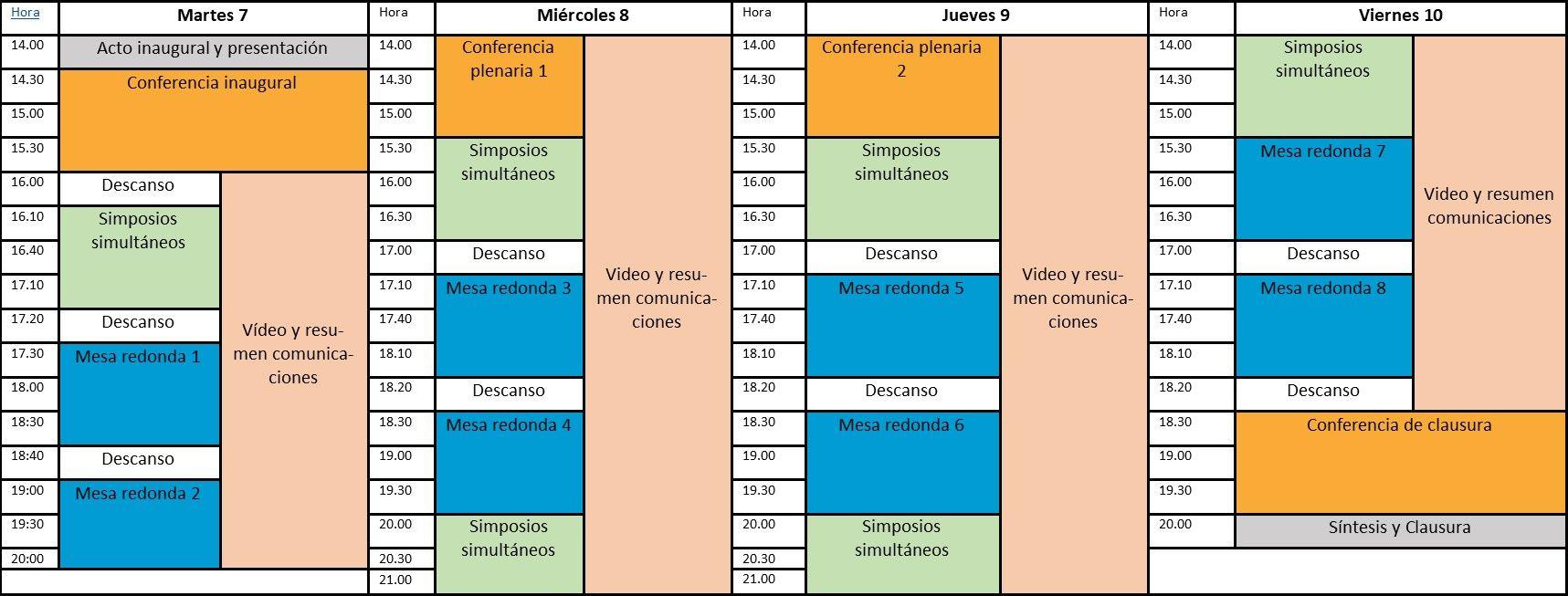 Programa 1 Congreso CAS